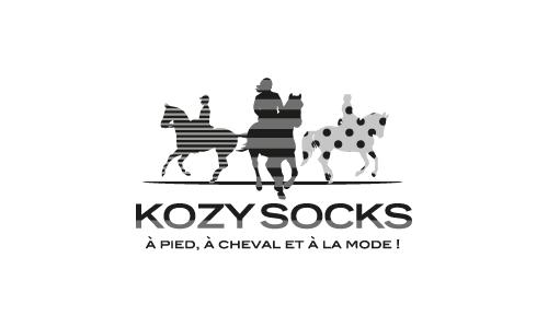 Logo KozySocks reference client de l'agence C'est qui Maurice ?