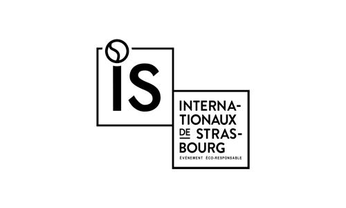 Les Internationaux de Strasbourg 2018 logo